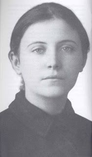 Portrait photograph of St Gemma Galgani