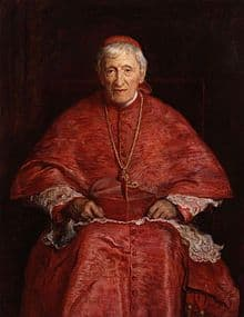 Image of St John Henry Newman in Bishop's clothing.