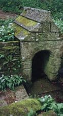 Photograph of St Keyne's Well, St Keyne, Cornwall.
