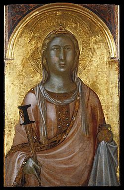 Icon of St Lucy of Syracuse
