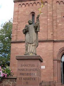 Statue of St Marcellinus