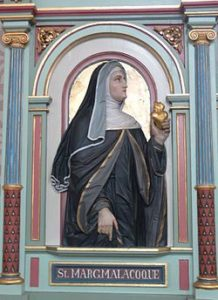 Image of St Margaret Mary Alacoque