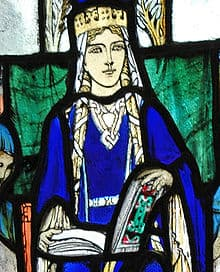 Stain Glass Window image of St Margaret of Scotland