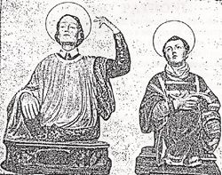 Sketch of St's Marian & James