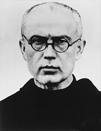 Photograph of St Maximilian Kolbe