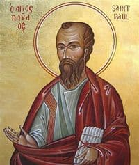 Icon of St Paul