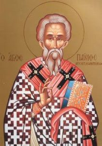Image of St Paul I of Constantinople
