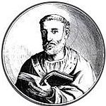 Sketch of St Peter Chrysologus