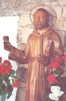 Statue of St Peter of St Joseph Betancourt