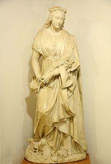 Statue of St Philomena