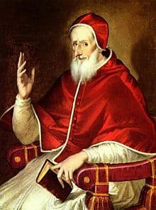 Image of Pope St Pius V