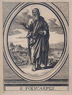 Sketch of St Polycarp