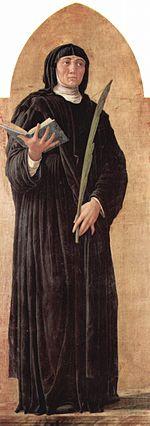 Image of St Scholastica
