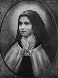 Portrait of St Thérèse of Lisieux