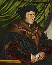 Portrait of St Thomas More