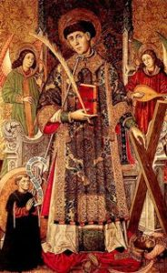 Image of St Vincent of Saragossa