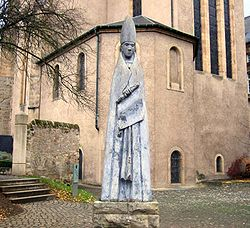 Statue of St Willibrord