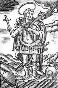 Sketch of St Zeno of Nicomedia