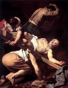 Image of the Crucifixion of St Peter