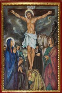 Twelfth Station: Jesus Dies hanging on the Cross.