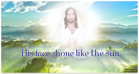 Image of Transfiguration of Jesus