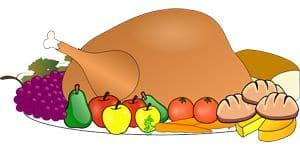 Sketch of Turkey platter