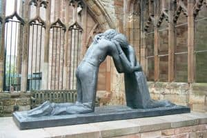 Statue of Reconciliation, Coventry, UK