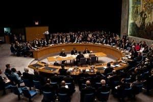 UN Council Meeting