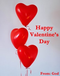 St Valentine's Day Greeting