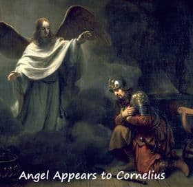 Appearance of Angel to Cornelius