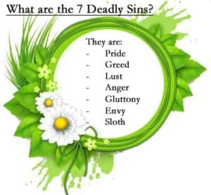 Q&A: What are the seven deadly sins?