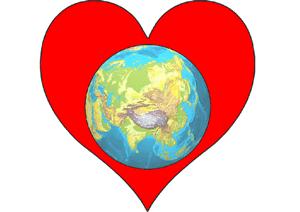 World inside Heart