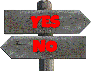 Signs: Yes No