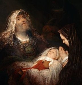 Zachariah, Elizabeth and Baby John the Baptist