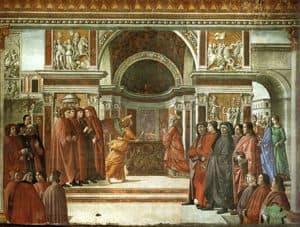 Zechariah in the Temple in Jerusalem