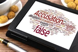 Word association for Accusation