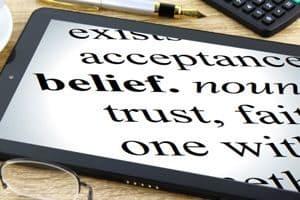 "Definition of ""Belief"""