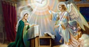 Annunciation of Mary by an Angel
