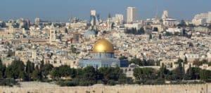View across Jerusalem