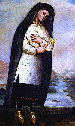 St Catherine Tekakwitha