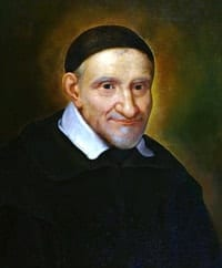 Portrait of St Vincent de Paul