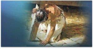 Jesus Fallen Under Cross