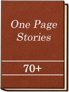 Book Cover: One-Page Stories