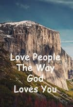Quote: Love People