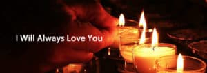 Lighting candles & Quotation
