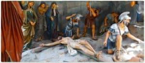Nailing of Jesus