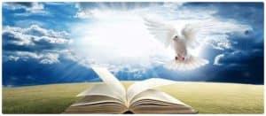 Dove & Book - Holy Spirit