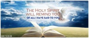Quote: Holy Spirit...