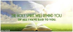 Quote: Holy Spirit...