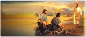 Jesus Appears to Disciples by the Sea